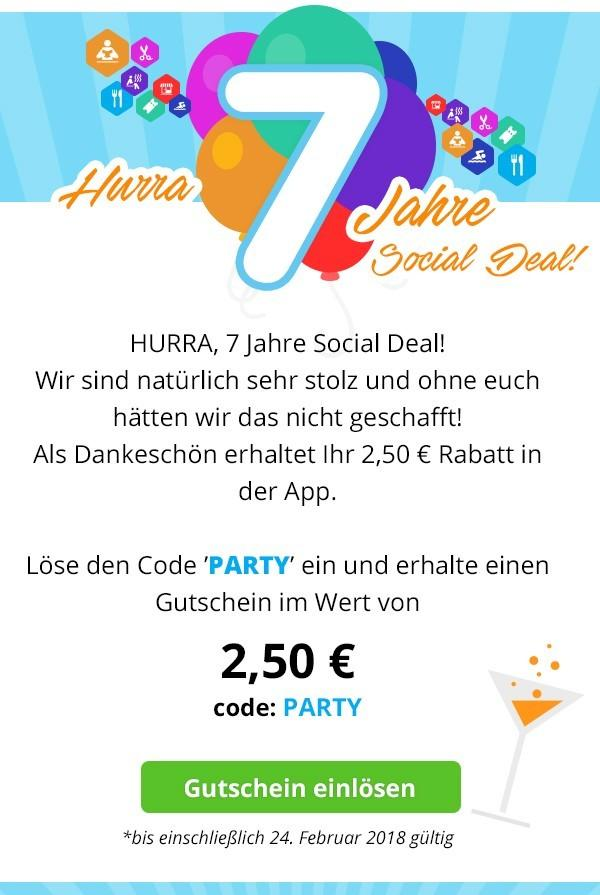 7jahresocialdeal party 1