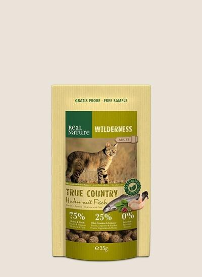 rnw cat adult true country huhn fisch 35g